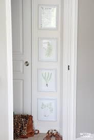 how to do a gallery wall gallery wall of botanical prints setting for four