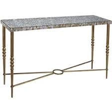 Pier One Console Table Marble Top Console Table Excellent Antique English Late Regency
