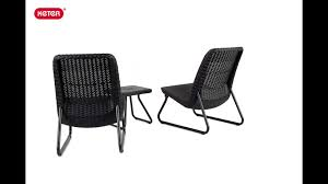 outdoor patio conversation sets 2 varick gallery cater all weather 3 piece lounger seating set