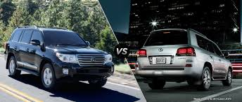 toyota land cruiser 2015 toyota land cruiser vs 2015 lexus lx 570