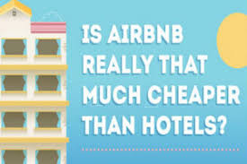 is airbnb cheaper than hotel is airbnb really that much cheaper than hotels see for yourself