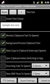 text to speech engine apk easy text to speech android apps on play