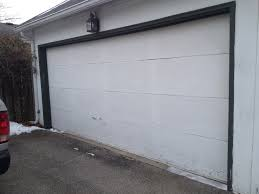 replacing a worn out garage door u2013 frugal living