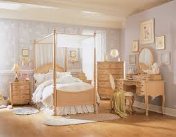Painted Wooden Bedroom Furniture by Calm Lavender Bedroom Wall Paint Feat Pleasant Wood Bed Set With