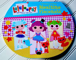 lalaloopsy magnetic paper dolls u0027s craft pink cake plate