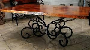 wrought iron pedestal table base black wrought iron dining table base tags wrought iron base with