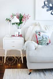 Macys Sleeper Sofa Alaina by 5 Simple Tips To Decorate At The Holidays The Everygirl