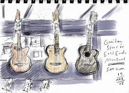 sketches guitar store quickie