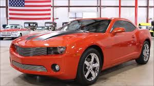 2010 chevy camaro orange youtube