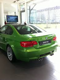 java green bmw java green m3 appears at bmw munich dealership page 6