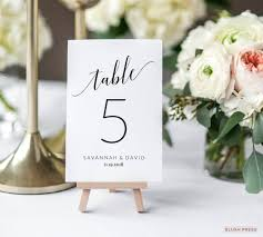 wedding table number fonts 14 wedding table number designs templates psd ai free