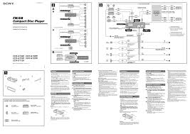 factory car stereo wiring diagrams to new sony radio and cd player
