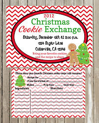 cookie exchange invitations free printable invitation design
