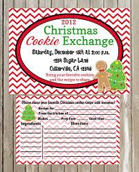 holiday cookie exchange invitation wording ideas craftykizzy