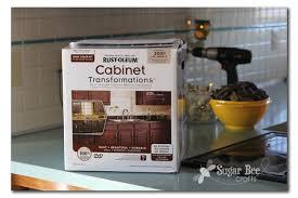 Rustoleum Kitchen Cabinet Transformation Kit Kitchen Cabinet Reveal Thanks Rustoleum Sugar Bee Crafts