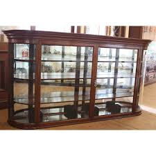 Shop Display Cabinets Uk Edwardian Curved Glass Display Cabinet Shop Fittings Andy