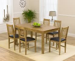 solid oak table with 6 chairs buy the oxford 150cm solid oak dining table with oxford chairs at