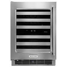 black friday wine fridge see all under the counter refrigeration kitchenaid