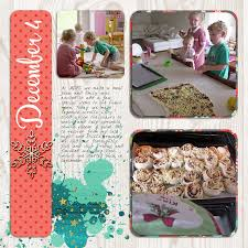 scrapbooking cuisine december day 4 cooking digital scrapbooking hq