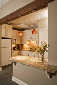 Basement Kitchen Designs The Tile Shop Hampton Carrara Pillow Backsplash Notice The