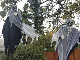 diy halloween yard decor giant spider in spiderweb making a for