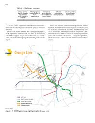 Dallas Texas On Map by Appendix L Case Study Orange Line Lrt Extension To Dallas Fort