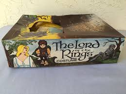 Lord Rings Halloween Costume Vintage Middle Earth 1979 Gollum Costume U0026 Frodo Box U2013 Mordor