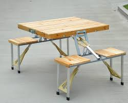 portable folding picnic table wooden portable folding picnic table wooden designs