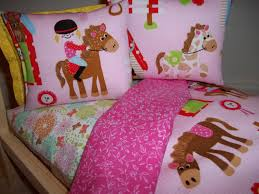 Girls Queen Comforter Bedroom Smooth Girls Horse Bedding For Unique Animals Themes