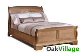 Oak Bed Frame Normandy Farmhouse Oak King Bed 6ft Oak Bed Frame