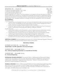 Sample Resume For Chemical Engineer by Tech Architect Resume