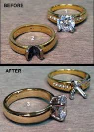 wedding ring repair time for a change turn yellow gold to white gold white gold