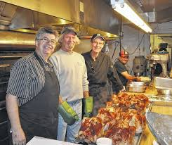 diner invites to thanksgiving meal delaware gazette
