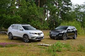 nissan accessories for x trail nissan x trail vs hyundai santa fe auto express