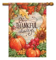 thanksgiving decorative outdoor house flags for your home