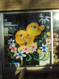 spring painting ideas window painting ideas for spring home intuitive