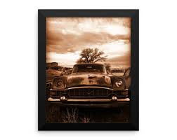 Vintage Americana Decor Old Car Stuff Etsy
