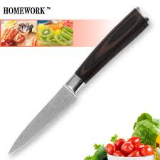 popular good cooking knives buy cheap good cooking knives lots hot sale kitchen knife 7cr17 stainless steel 3 5 inch paring knife sharp laser wave pattern good