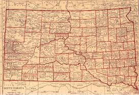 Map South Dakota South Dakota