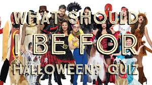 what should i be for halloween quiz youtube