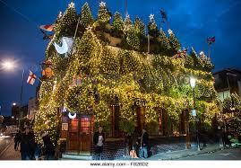 pub christmas uk lights stock photos u0026 pub christmas uk lights