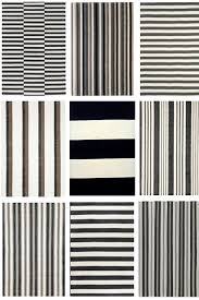 Black And White Stripped Rug Bathroom Black And White Striped Rug Pictures Decorations