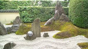 rocks and sand in japanese gardens life style japan bullet