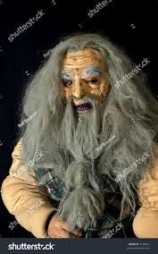 scary halloween mask old man long stock photo 7193941 shutterstock