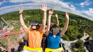Six Flags America Map by Superman Ride Goes Virtual Reality At Six Flags America