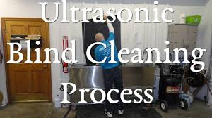 Ultrasonic Blind Cleaning Equipment Ultrasonic Blind Cleaning Youtube