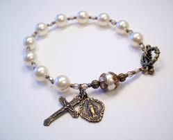 rosary bracelets a handmade catholic rosary bracelet for men and women the vintage