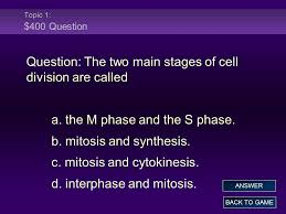 chapter 10 a u2013 cell growth and division ppt video online download