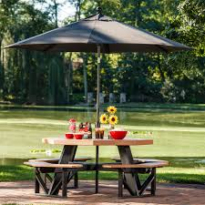 Poly Picnic Tables by Octagon Picnic Table Luxcraft