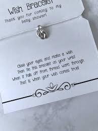 baby shower bracelet divine giftware